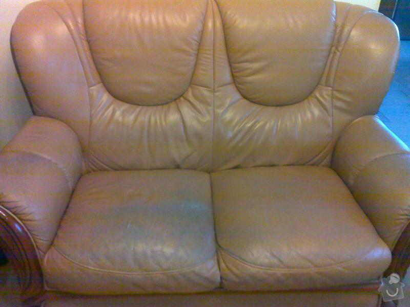 Opravu(čalouněni)kožene sedaci soupravy: sedacka2