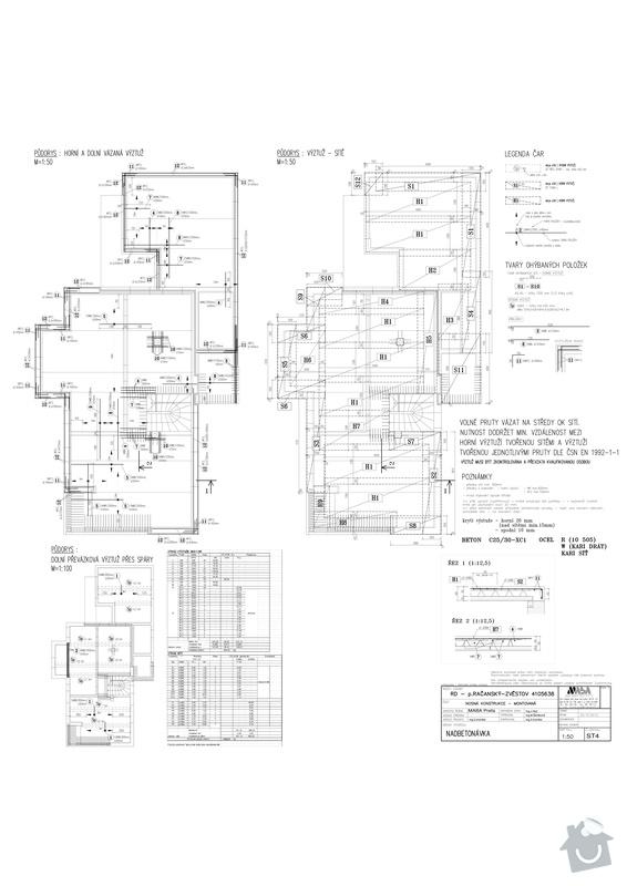 Filigránové stropy: Nadbetonavka_RD_Racansky-Model
