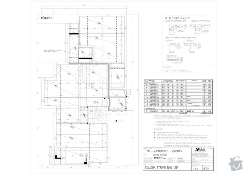 Filigránové stropy: Skladba_-_RD_Zvestov-Model