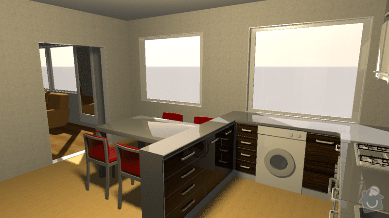 Kuchyn panelak: neuzilova3_3
