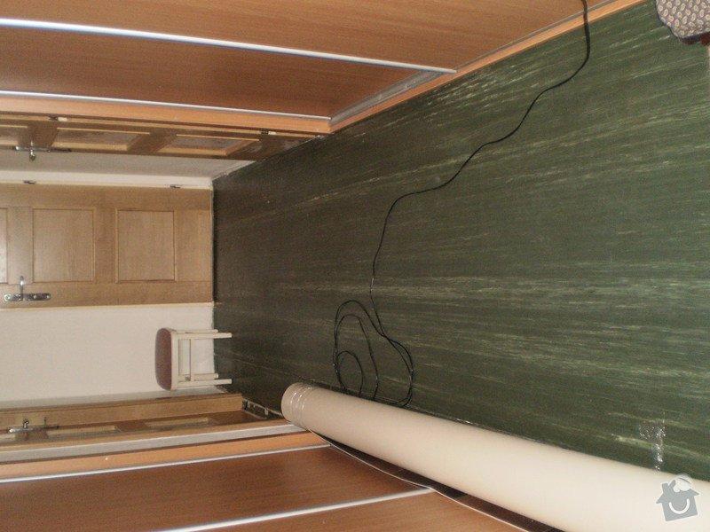 Pokládka PVC podlahy: PB140019