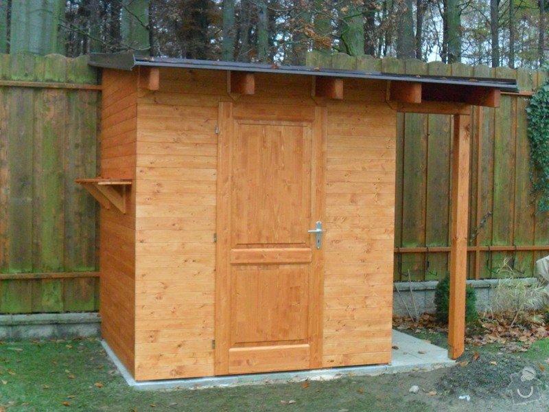Zahradní domek, přístřešek a dětské houpačky: SAM_0495