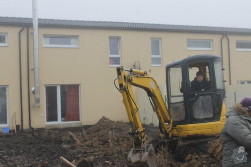 Úprava pozemku,stavba terasy: 013
