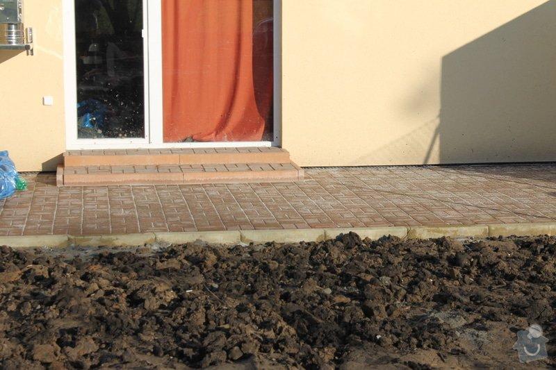 Úprava pozemku,stavba terasy: 021