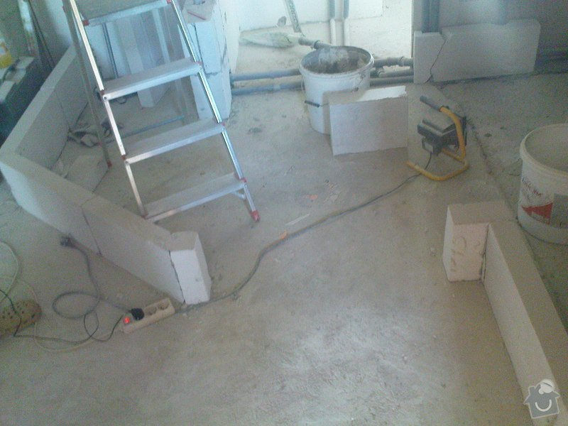 Rekonstrukce koupelen - p.Němec, Neratovice: Reko_bytu_Nemcovi_093