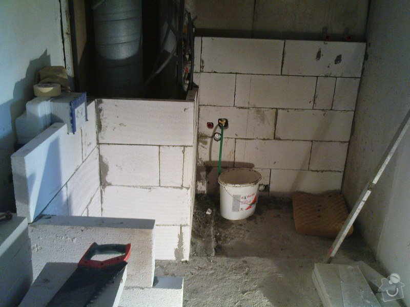 Rekonstrukce koupelen - p.Němec, Neratovice: Reko_bytu_Nemcovi_106