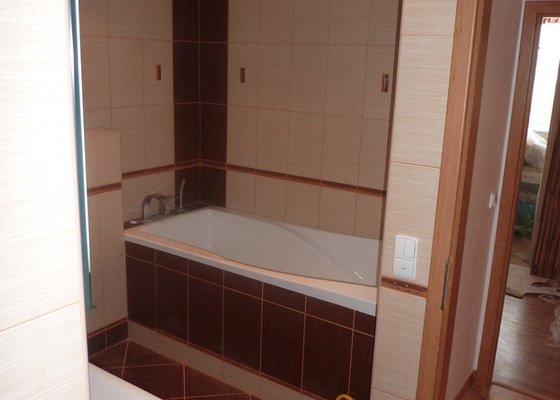 Rekonstrukce koupelen - p.Němec, Neratovice