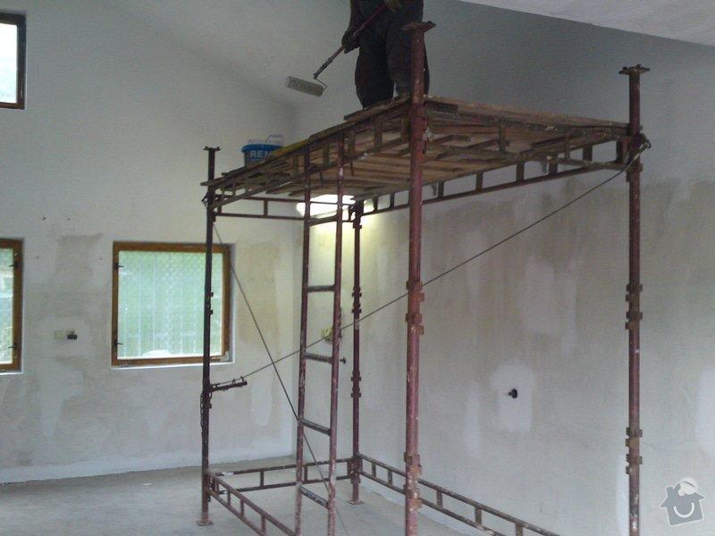 Renovace garáže, fasáda garáže - p.Ježek, Sázava: SE_905_-_17.7.2010_012