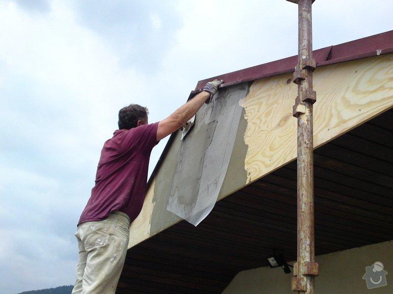 Renovace garáže, fasáda garáže - p.Ježek, Sázava: SE_905_-_17.7.2010_035
