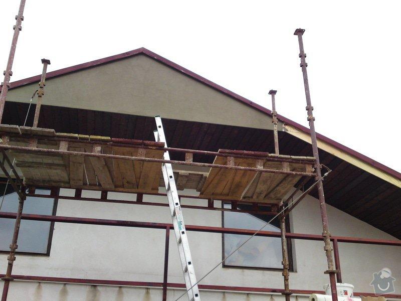 Renovace garáže, fasáda garáže - p.Ježek, Sázava: SE_905_-_17.7.2010_038