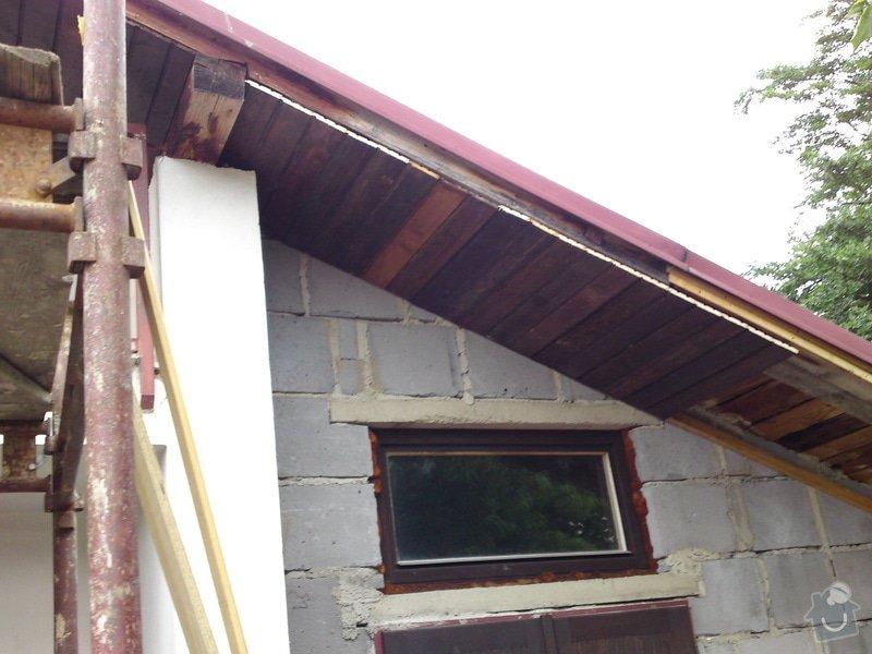 Renovace garáže, fasáda garáže - p.Ježek, Sázava: SE_905_-_17.7.2010_037