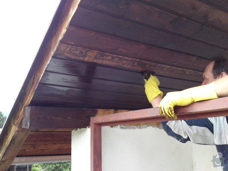 Renovace garáže, fasáda garáže - p.Ježek, Sázava: SE_905_-_17.7.2010_040