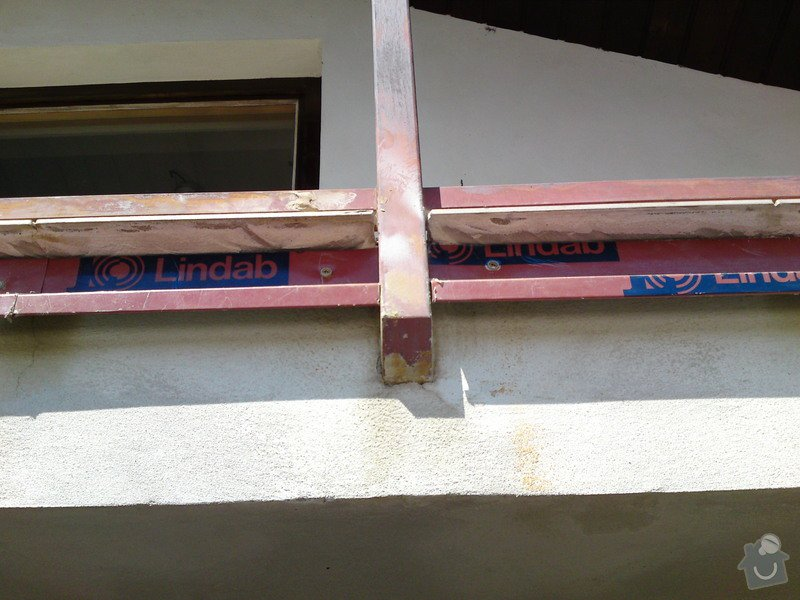 Renovace garáže, fasáda garáže - p.Ježek, Sázava: SE_905_-_17.7.2010_057