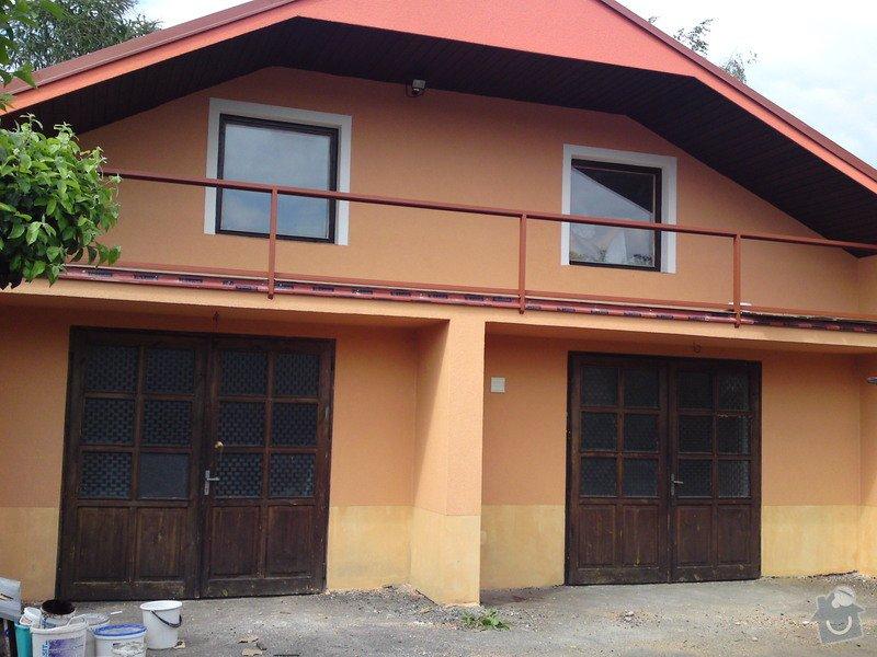 Renovace garáže, fasáda garáže - p.Ježek, Sázava: SE_905_-_17.7.2010_153