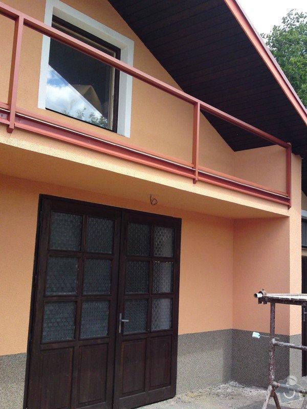Renovace garáže, fasáda garáže - p.Ježek, Sázava: SE_905_-_17.7.2010_177