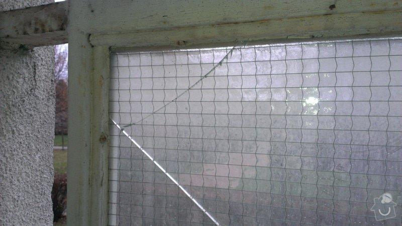 Výměna prasklého skla na balkoně: IMAG0236