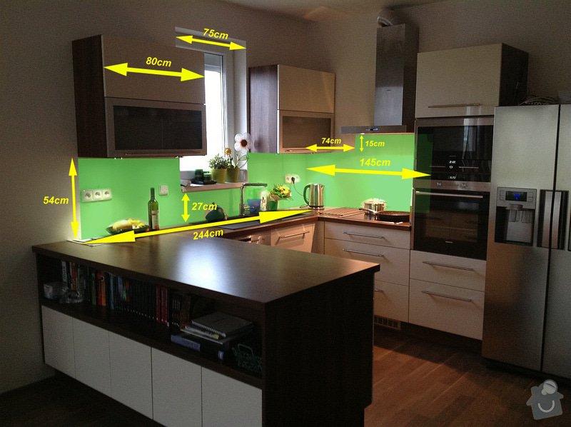 Obklad lacobel za kuchynu: kuchyna-lacobel-rozmery