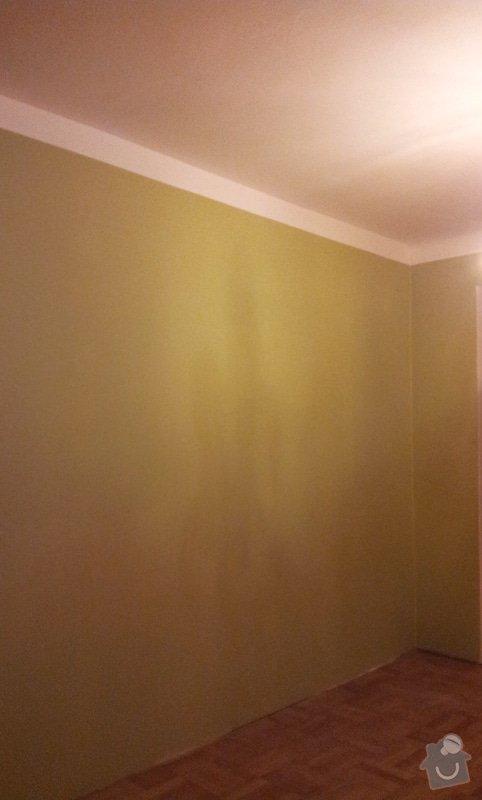 Odhlučnění pokojové stěny 18m2 -sousedí se schodištěm v bytovém domě + zaizolování dveří mezi dvěma pokoji (také kvůli hluku): 20121121_175544