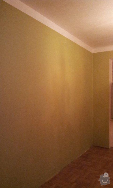Odhlučnění pokojové stěny 18m2 -sousedí se schodištěm v bytovém domě + zaizolování dveří mezi dvěma pokoji (také kvůli hluku): 20121121_175601