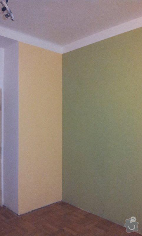 Odhlučnění pokojové stěny 18m2 -sousedí se schodištěm v bytovém domě + zaizolování dveří mezi dvěma pokoji (také kvůli hluku): 20121121_175633