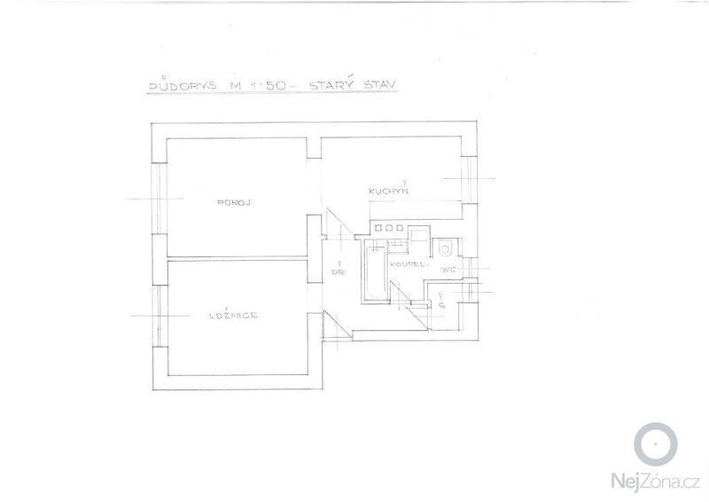 Kompletní rekonstrukce bytu: Puvodni