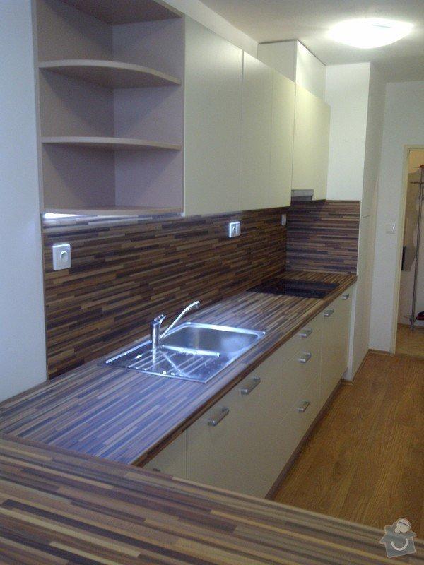 Rekonstrukce kuchyně a obývacího pokoje, výroba kuchyňské linky: IMG-20121205-00731