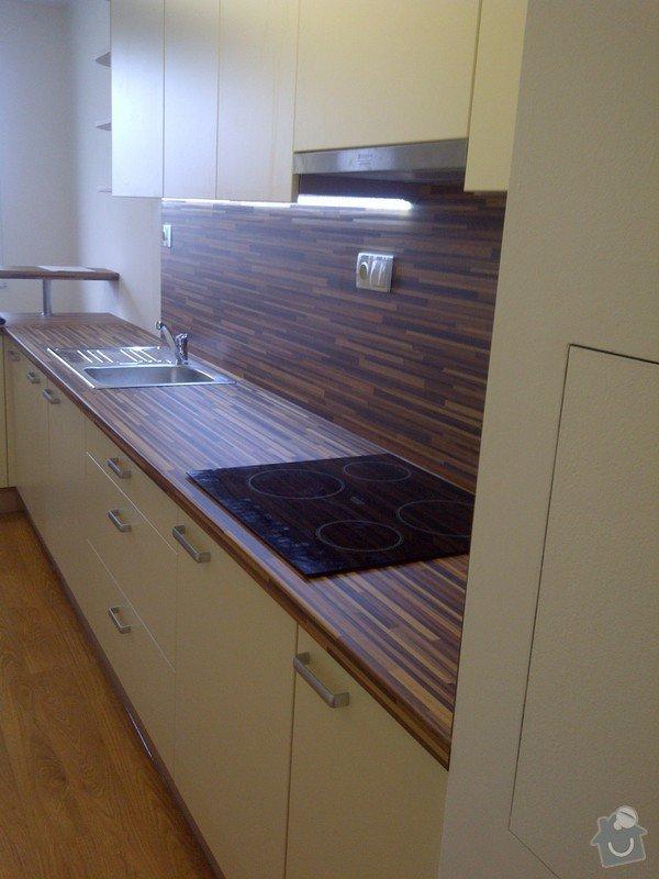 Rekonstrukce kuchyně a obývacího pokoje, výroba kuchyňské linky: IMG-20121205-00723