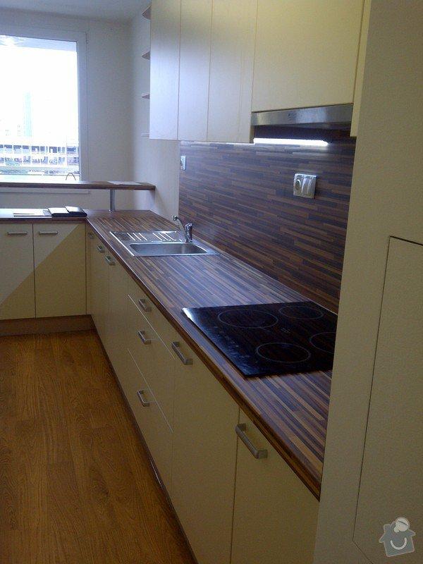 Rekonstrukce kuchyně a obývacího pokoje, výroba kuchyňské linky: IMG-20121205-00724