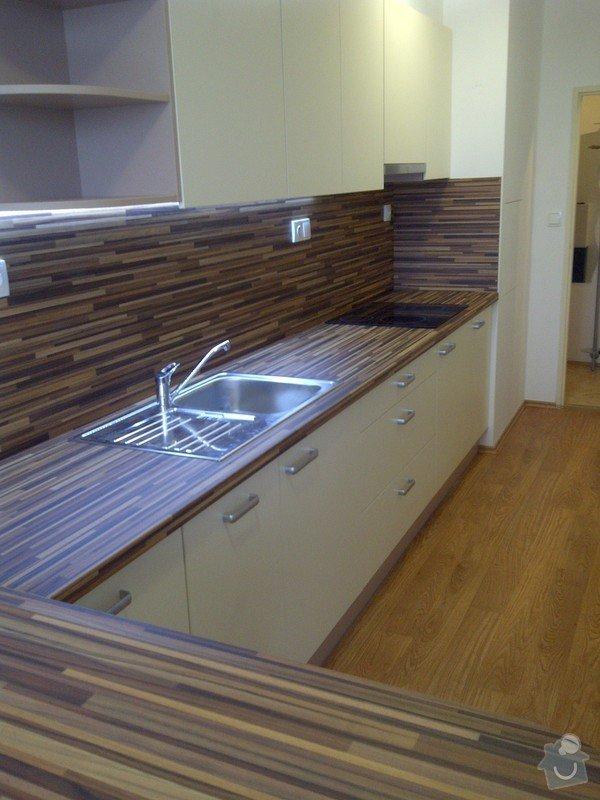 Rekonstrukce kuchyně a obývacího pokoje, výroba kuchyňské linky: IMG-20121205-00726