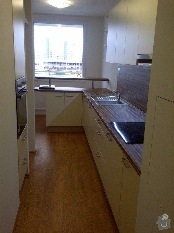 Rekonstrukce kuchyně a obývacího pokoje, výroba kuchyňské linky: IMG-20121205-00727