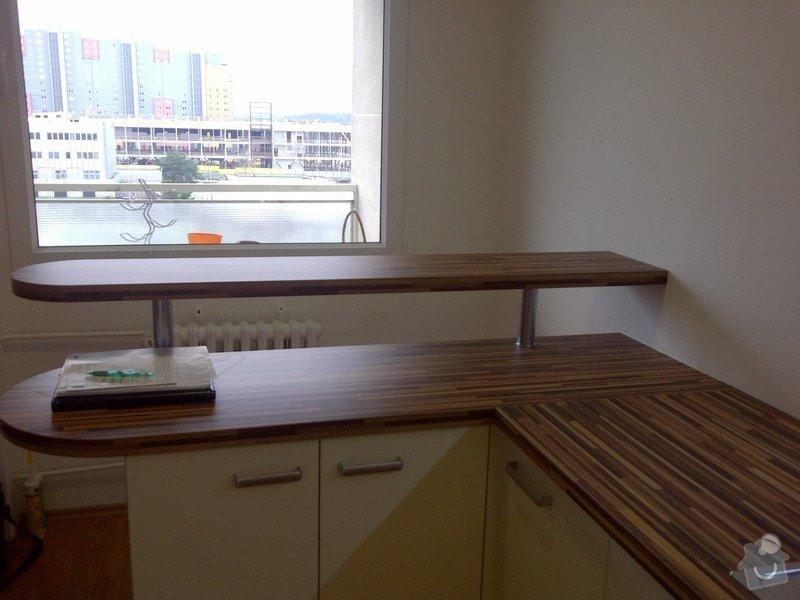Rekonstrukce kuchyně a obývacího pokoje, výroba kuchyňské linky: IMG-20121205-00730
