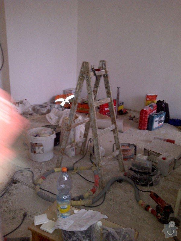 Rekonstrukce kuchyně a obývacího pokoje, výroba kuchyňské linky: IMG-20121120-00499