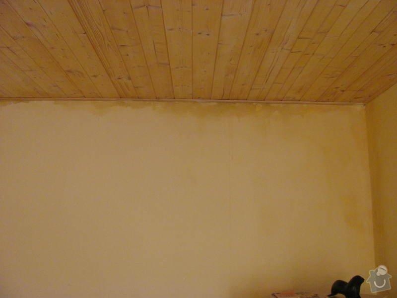 Zateplení části vnější fasády: 001