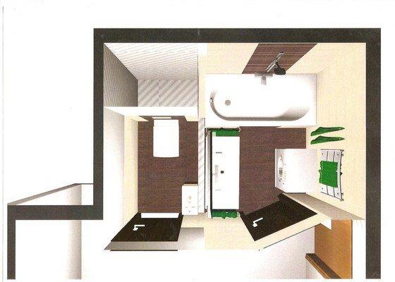 Rekonstrukce bytového jádra a stavební úpravy pro kuchyňskou linku