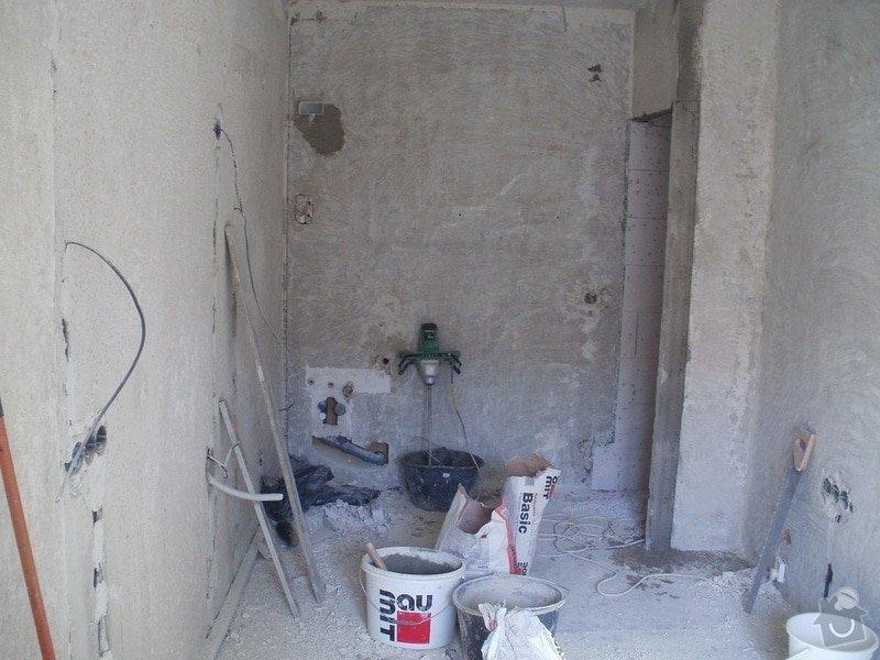 Rekonstrukce bytového jádra a stavební úpravy pro kuchyňskou linku: 012