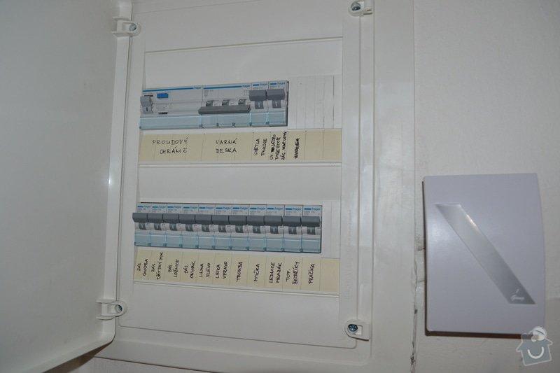 Kompletní elektroinstalace při rekonstrukci bytu a garáže: DSC_0119