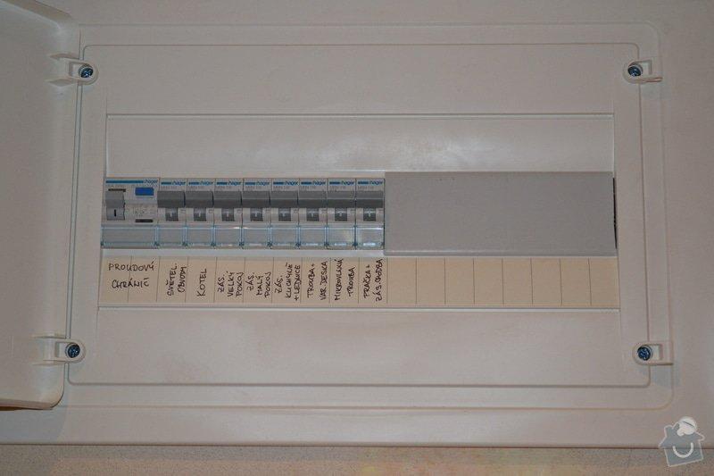 Rozvod elektriny v byte 2+1 v Brne: DSC_0007