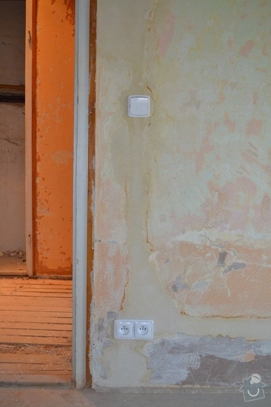 Rozvod elektriny v byte 2+1 v Brne: DSC_0015s