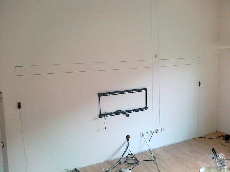 Vedení audiokabelů za zdí: 08122012840