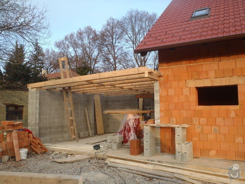 Střecha garážového stání: PB205888