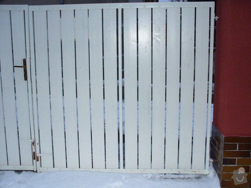 Zámečnická a drobná zednická práce: brana2