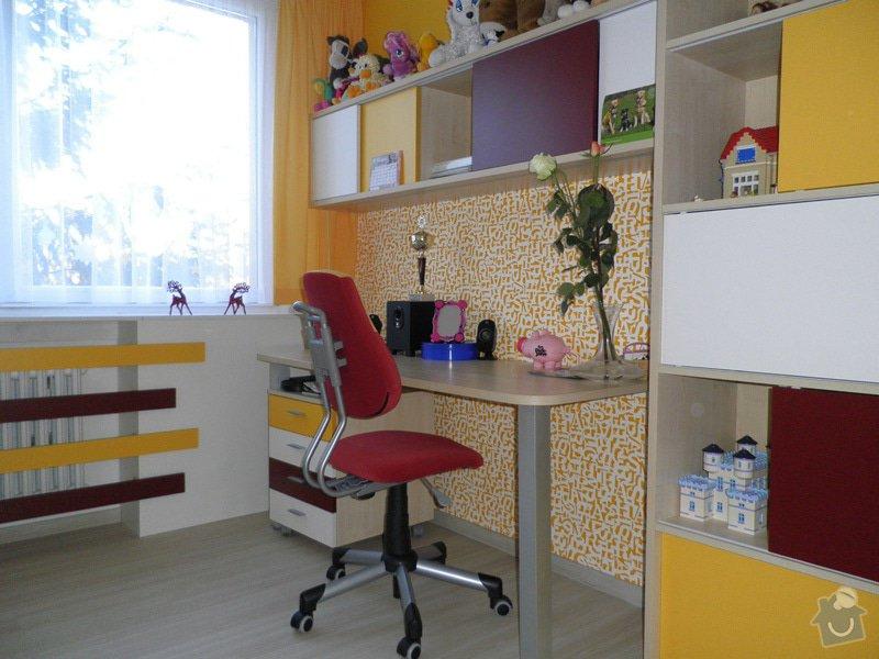 Návrh interiéru a realizace dětského pokoje v Praze.: uprava1