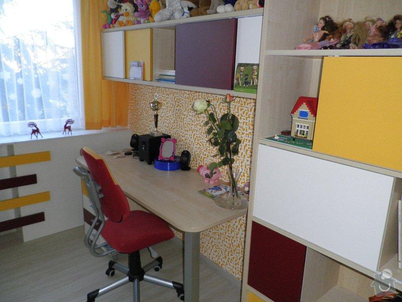 Návrh interiéru a realizace dětského pokoje v Praze.: uprava2