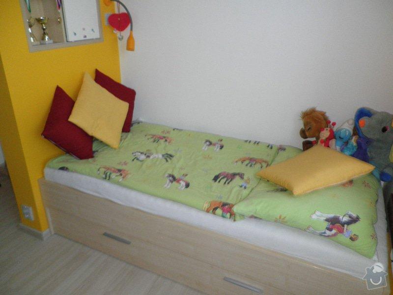 Návrh interiéru a realizace dětského pokoje v Praze.: uprava4