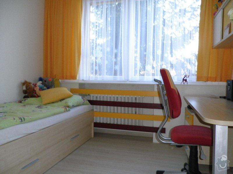 Návrh interiéru a realizace dětského pokoje v Praze.: uprava5