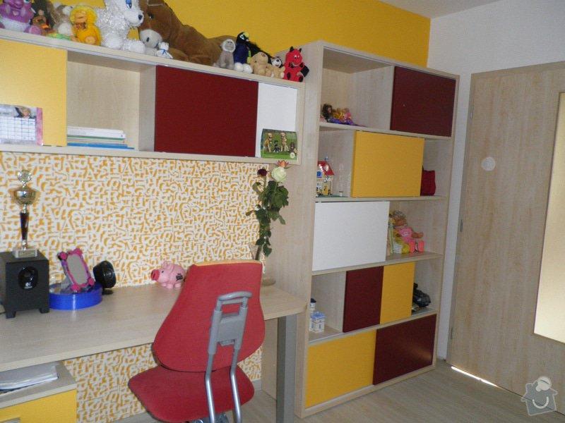 Návrh interiéru a realizace dětského pokoje v Praze.: uprava6