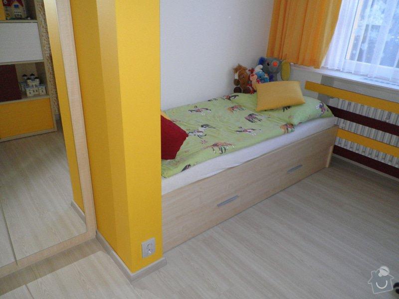 Návrh interiéru a realizace dětského pokoje v Praze.: uprava7