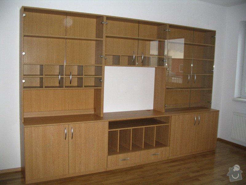 Obývací stěna,knihovna,skříň: Stena_12.12._E._Novakova_001