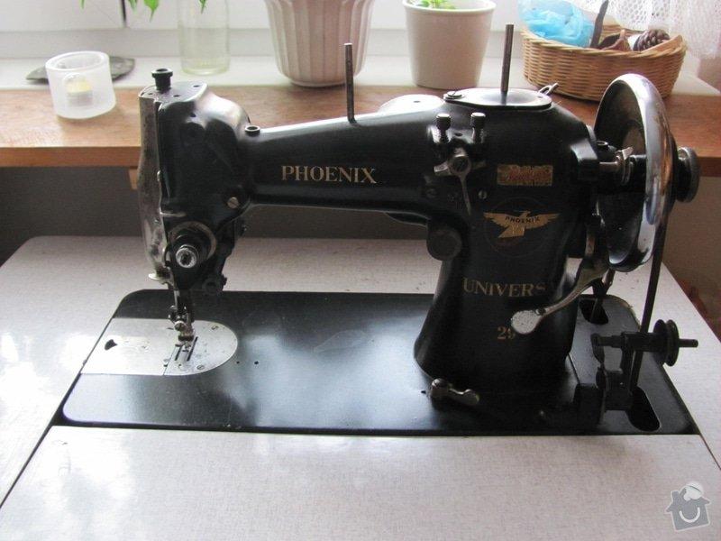Seřízení šicího stroje: s2