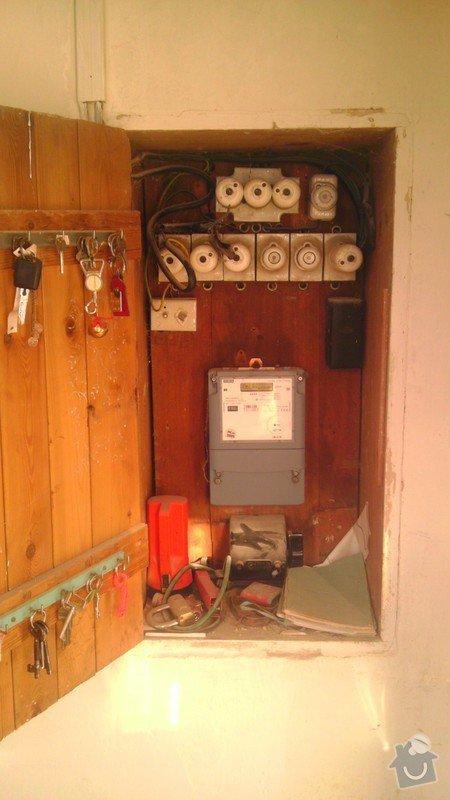 Postupná rekonstrukce elektroinstalace v RD: IMAG0372